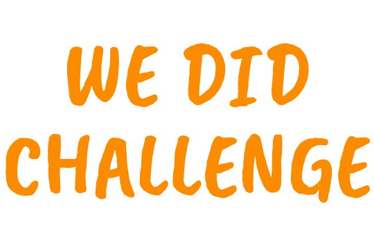 WE DID Challenge